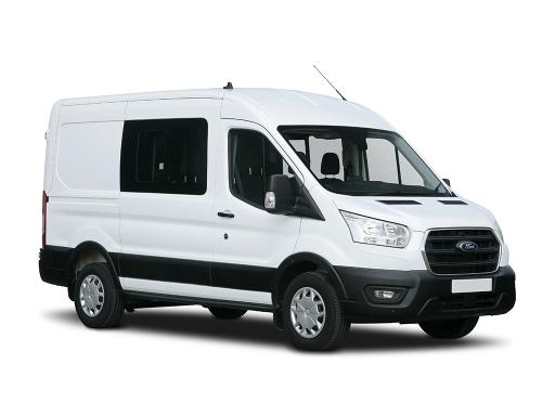 Ford TRANSIT 350 L3 RWD 2.0 EcoBlue 130ps H3 Trend Double Cab Van